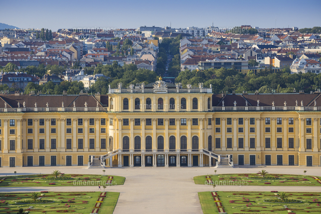 Austria, Vienna, Schonbrunn Palace - a former imperial summer residence