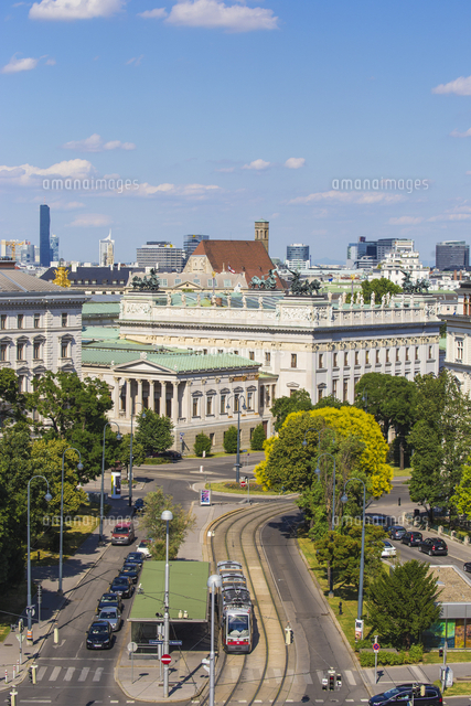 Austria, Vienna, View of City