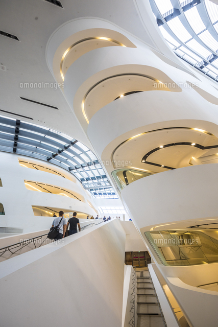 Library at Vienna University of Economics and Business (by Zaha Hadid) Vienna, Austria
