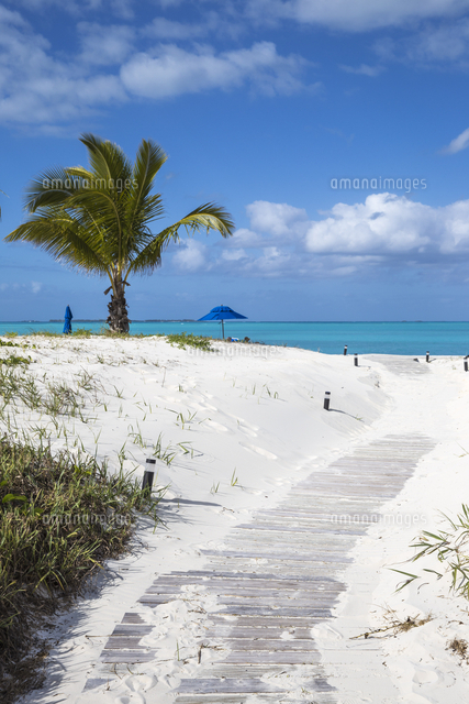 Bahamas, Abaco Islands, Great Abaco, Beach at Treasure Cay
