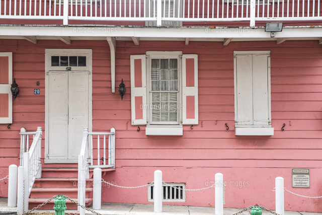 Caribbean, Bahamas, Providence Island, Nassau, Balcony House Museum - the oldest existing wooden res