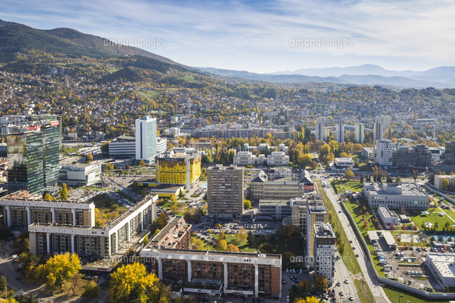 Bosnia and Herzegovina, Sarajevo, City view