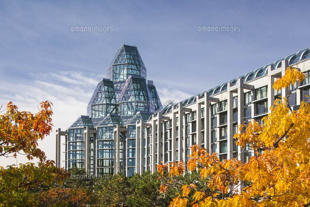 Canada, Ontario, Ottowa, capital of Canada,  National Gallery, autumn