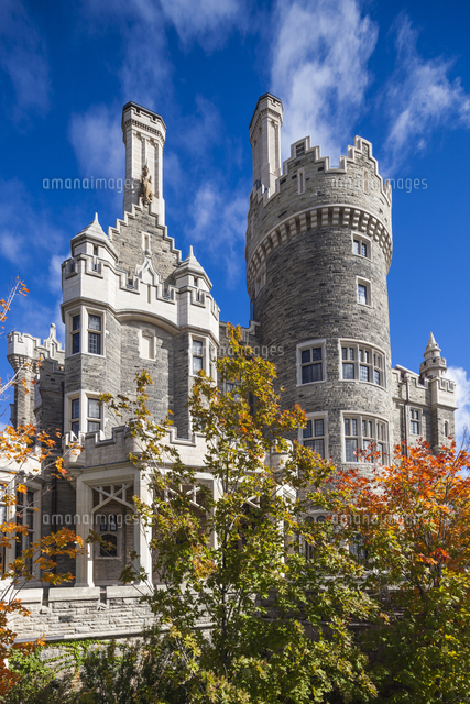 Canada, Ontario, Toronto, Casa Loma, historic home