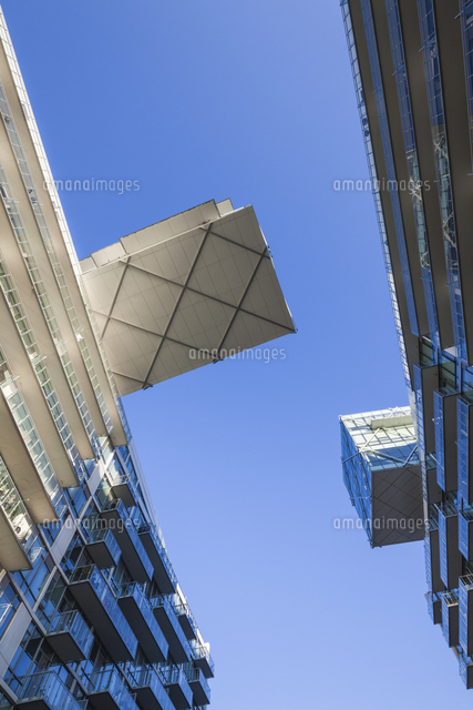 Canada, Ontario, Toronto, Harbourfront, new Pier 27 buildings