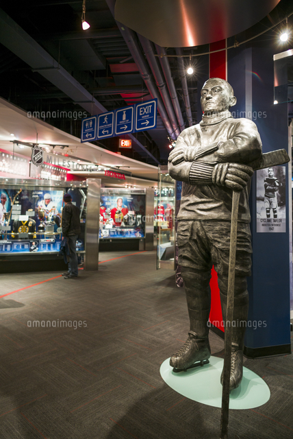 Canada, Ontario, Toronto, Hockey Hall of Fame, interior