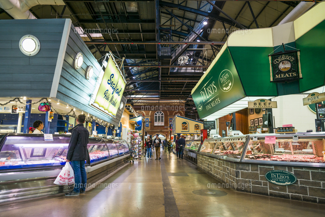 Canada, Ontario, Toronto, St. Lawrence Market, interior