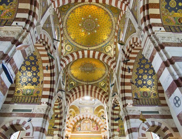 the interior of notre dame de la garde above marseilles 20089007861