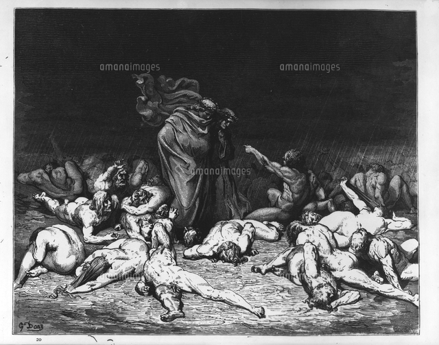 Answer, Dante and virgil in hell