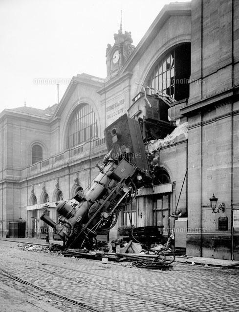 モンパルナス駅鉄道事故(1895年...