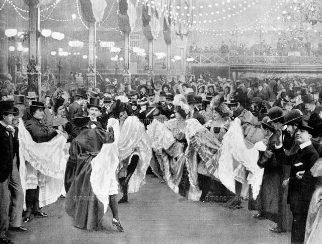 ムーラン・ルージュ モンマルトル パリ 1900年[22177003468]の写真素材 ...