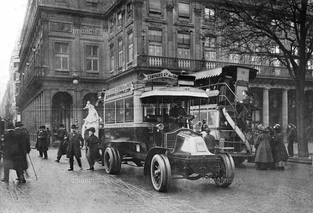 バス パリ 1909年[22177003488]...
