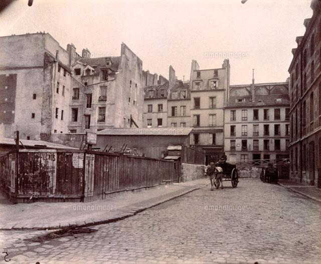 パリ (1909年) 撮影:ウジェーヌ...