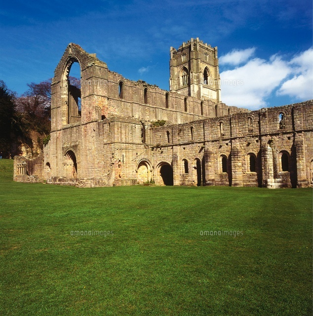 fountains abbey was founded in the 12th century and is the