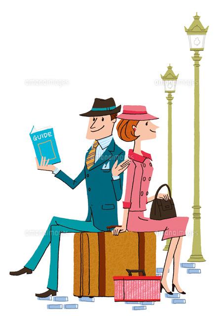 海外旅行をしているカップル22276005925の写真素材イラスト素材