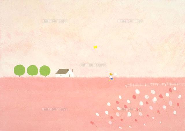 春の風景 イラスト22451030427の写真素材イラスト素材アマナイメージズ