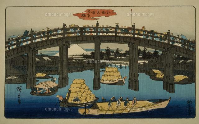 江戸名所 日本橋22451034321の写真素材イラスト素材アマナイメージズ