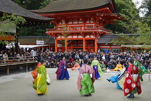 京都府 下鴨神社 蹴鞠始め22456003236の写真素材イラスト素材
