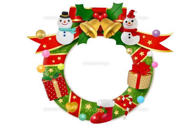 クリスマスリース22497000505の写真素材イラスト素材アマナイメージズ