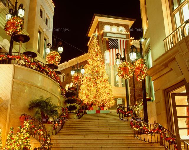 ビバリーヒルズのクリスマス風景22698000171の写真素材イラスト素材