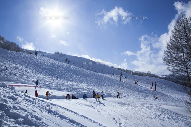 スキー場22748001049の写真素材イラスト素材アマナイメージズ