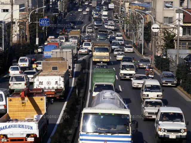 東京 都心の交通渋滞 1990年[229...