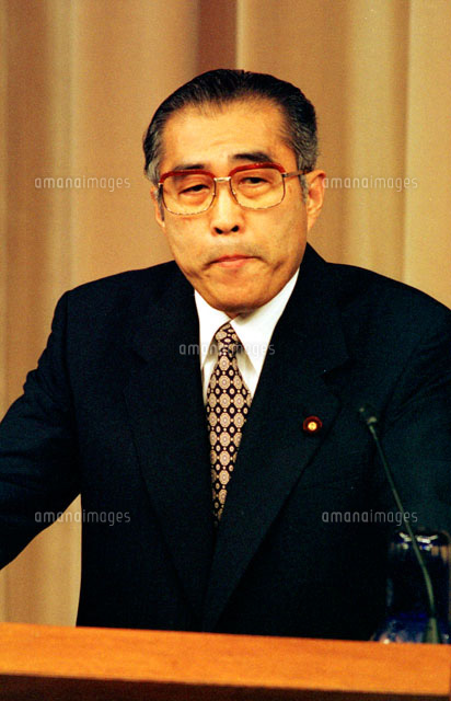 内閣総理大臣 小渕恵三 1998年7...