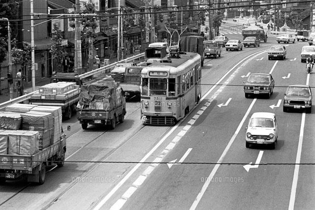 東京 都電荒川線 1974年[22973000836]の写真素材・イラスト素材 ...