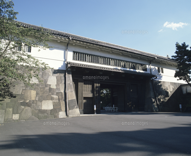 皇居(桜田門の渡櫓門)[2301805...