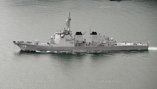 海上自衛隊のイージス艦みょうこう23023000262の写真素材