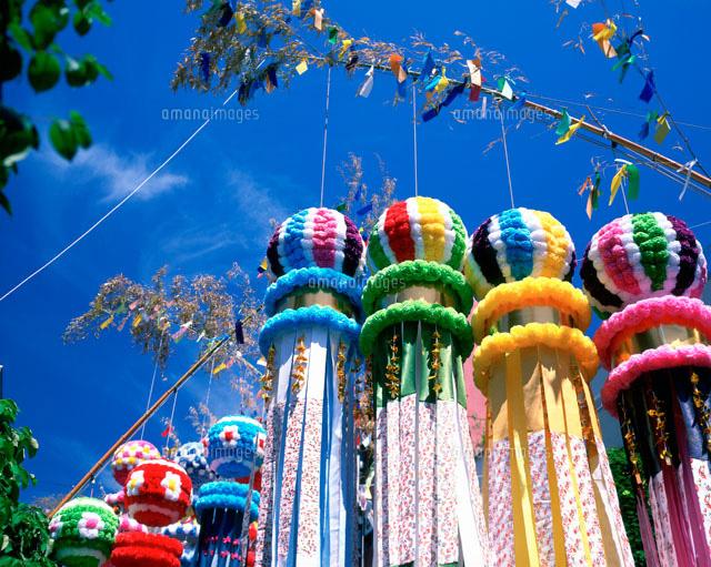 仙台七夕祭り25053001664の写真素材イラスト素材アマナイメージズ