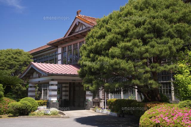 明倫小学校旧校舎25053013448の写真素材イラスト素材アマナイメージズ