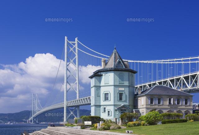 孫文記念館と明石海峡大橋[25053...