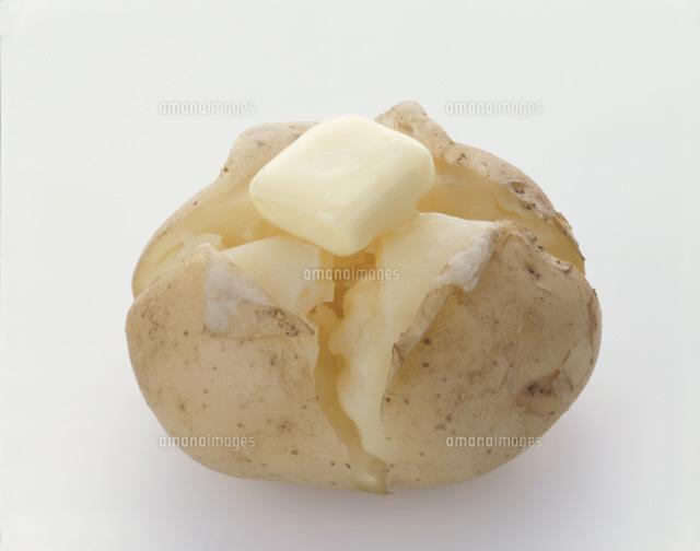 じゃ が バター イラスト