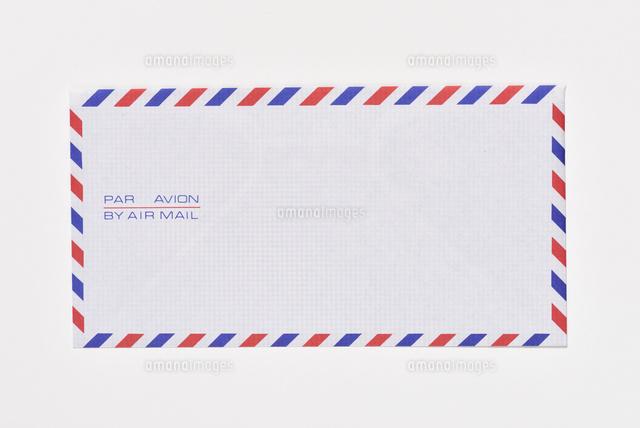 エアメールの封筒25083045071の写真素材イラスト素材アマナイメージズ