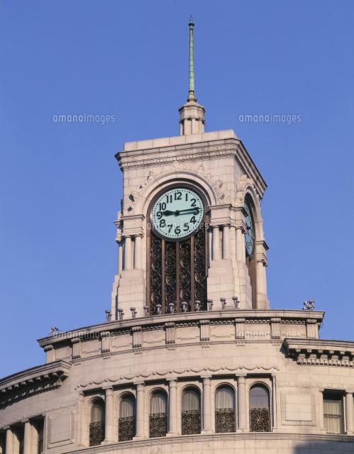 buy online d1737 dabd2 銀座和光の時計塔[25125013610]の写真素材・イラスト素材 ...
