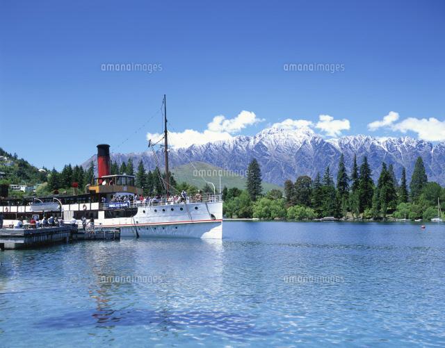 ワカティプ湖とアーンスロー号[2...