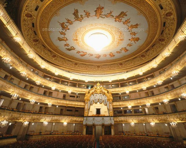 マリンスキー劇場[25205001104]| 写真素材・ストックフォト・画像 ...