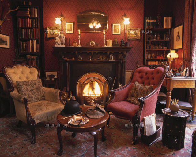 シャーロックホームズ博物館25333000258の写真素材イラスト素材