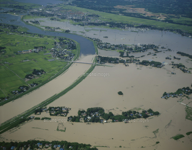 小貝川洪水現場[25397002806]| ...