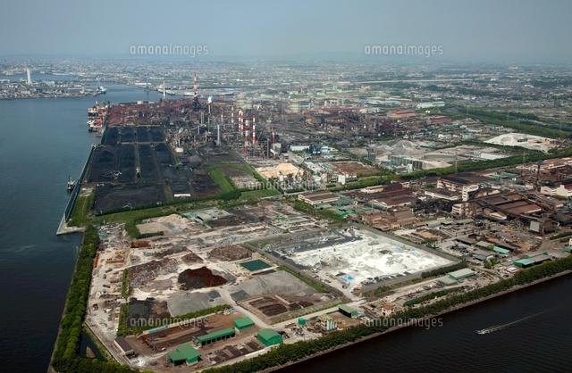 中京工業地区(東海元浜ふ頭,鉄鋼生産基地)[25397007834]の写真素材 ...