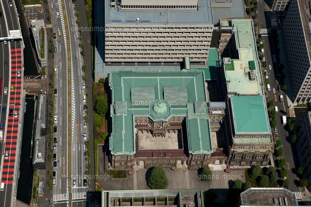 日本銀行本店(上空から見ると円の字に見える建物)[25397009492]の ...