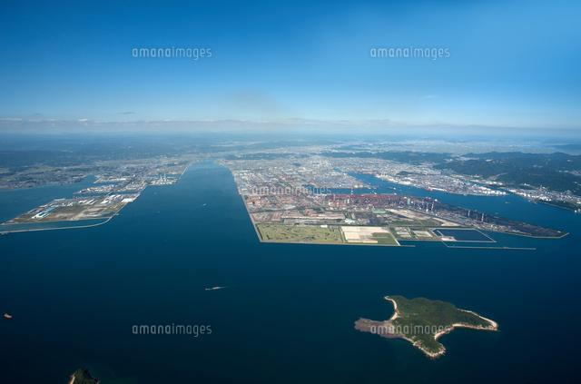 上水島と玉島地区と水島工業地帯...
