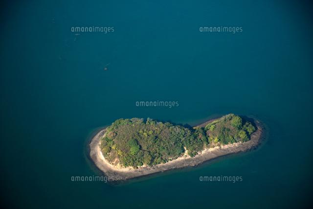 瓢箪島(無人島)と瀬戸内海[253...