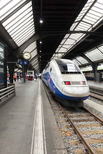 チューリッヒ中央駅のフランス国...