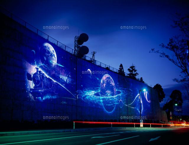 賢治銀河鉄道の壁画25525000969の写真素材イラスト素材アマナ