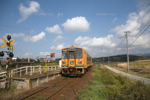 津軽鉄道の深郷田駅[25620014099...