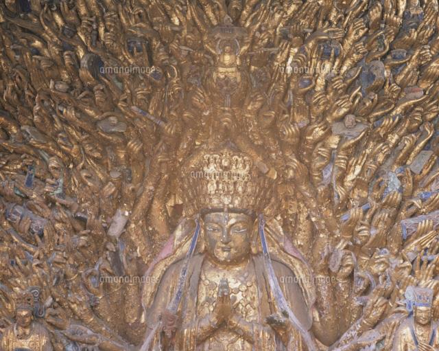 宝頂山石刻千手観音25739014155の写真素材イラスト素材アマナ