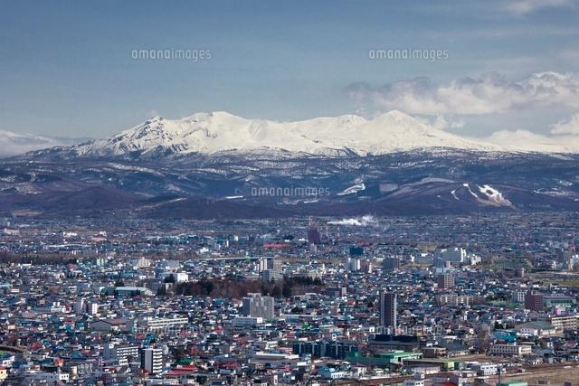嵐山展望台から旭川市遠望[25802...