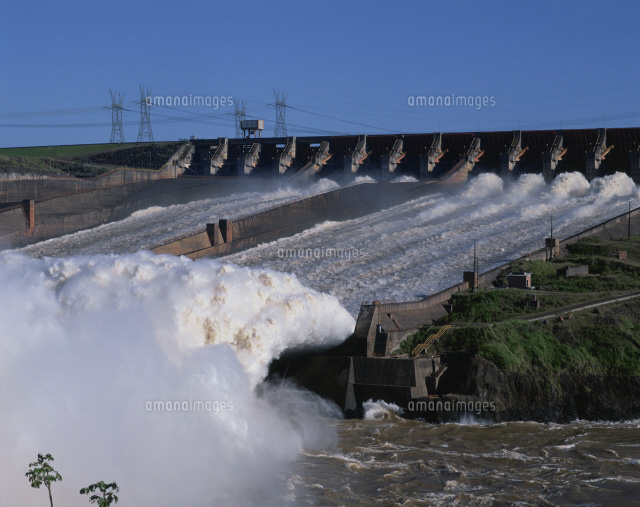 イタイプダム パラナ川[25826005...